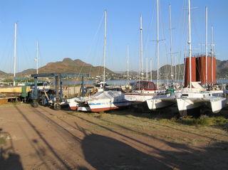 Marina Seca Guaymas boat yard