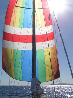 Downwind sailing 1
