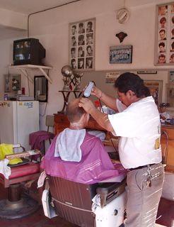 Geoff's Haircut