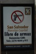 San Salvador is a Gun Free Zone