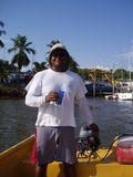 Daily panga ride to the boat yard