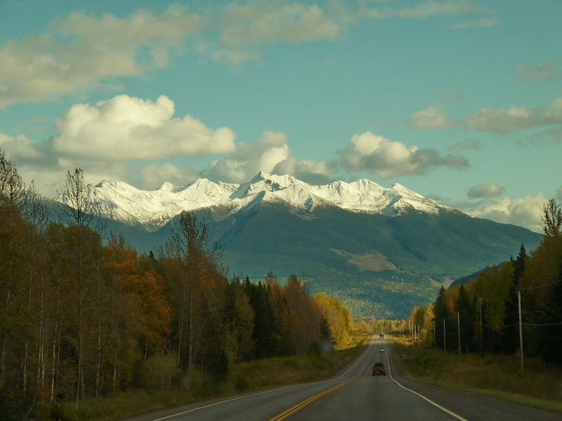 Driving to Smithers