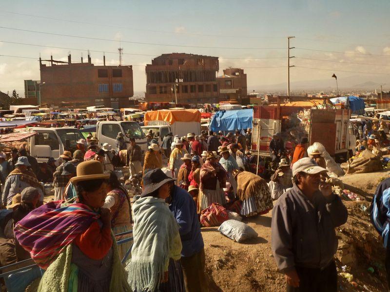 Market Day El Alto