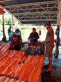 Buying salmon