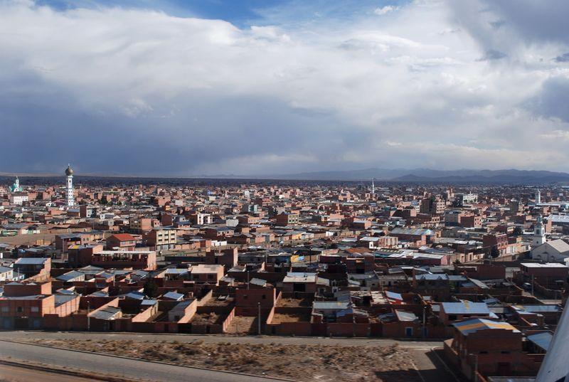 El Alto spires