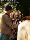 G and Maggy saddle Moro