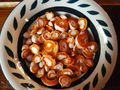 A bowl of sliced Pan del Indio