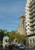 Methodist Church & Art-deco Bldg