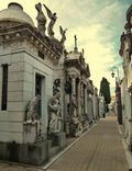 Rows of Mausoleums