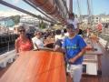 Sailors visiting the Bluenose II