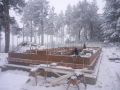 Framing in the snow