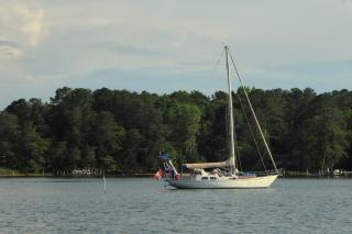 Anchored in Virginia