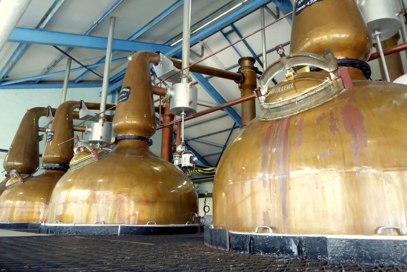 The shiny distillers
