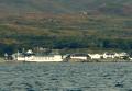 Sailing past Ardbeg