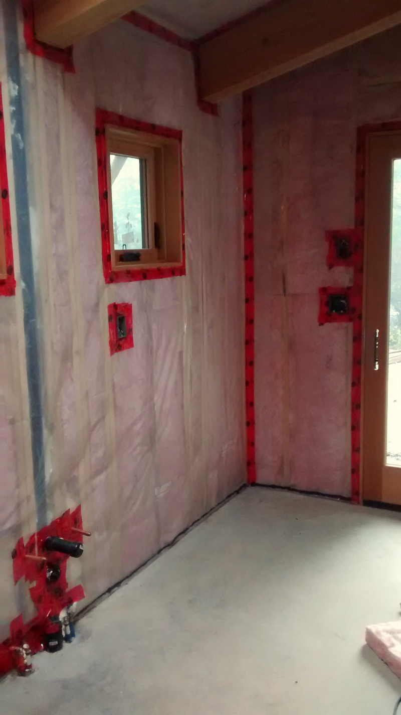 Insulation and vapour barier