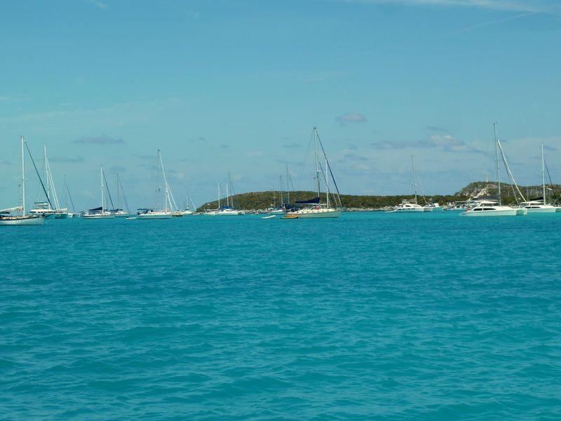 Stocking Island anchorage