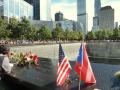 Visiting the ground zero Memorial