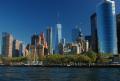 Hudson River view of South Manhattan