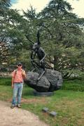 GG at the Sculpture Garden