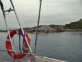 At anchor in Tinkers Hole
