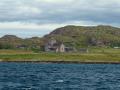 Sailing Past Iona