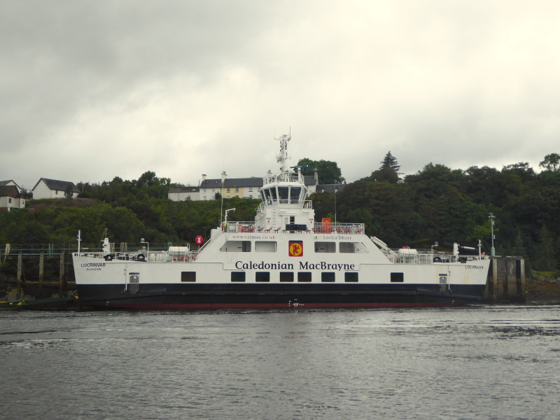 Lochinvar - the Loch Aline ferry