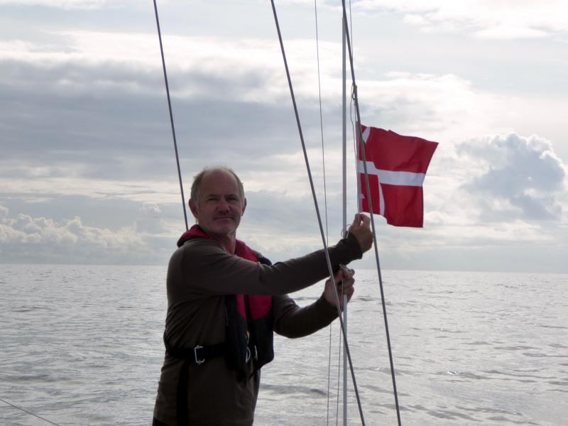 Danish Courtesy Flag