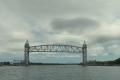 Railway and fixed bridge