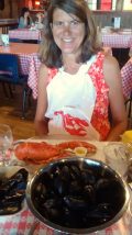 A feast of seafood