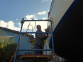 Polishing the hull
