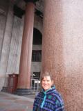 St. Isaacs Cathedral Rapikivi column