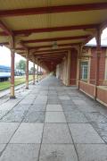 Long train platform