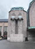 Art Nouveau train station