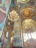 Interior of an Orthodox church