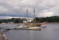 Curare and small Swedish Folkboat