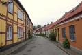 Colourful neighbourhood street