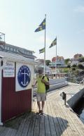 Swedish guest harbour machine kiosk