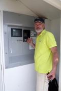 GG and a Tallycard machine