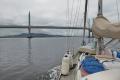 Approaching Clachnaharry Sea Lock