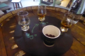 Lagavulin whisky flight