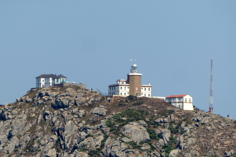 Lighthouse on Cape Finisterre