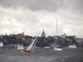 Busy Stockholm harbour
