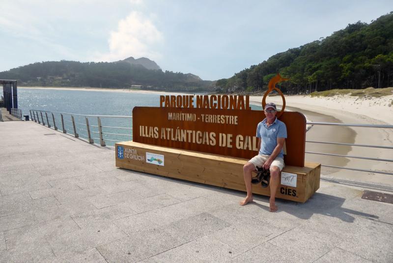 Ferry pier Illa do Monteagudo