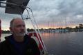 Departing Gislovs Lage at daybreak