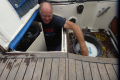 GG cleaning cockpit locker