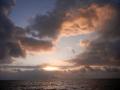 Departing IOS at sunrise