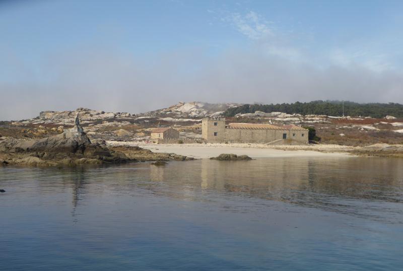 El Casrtillo anchorage view