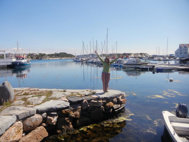 Tananger harbour