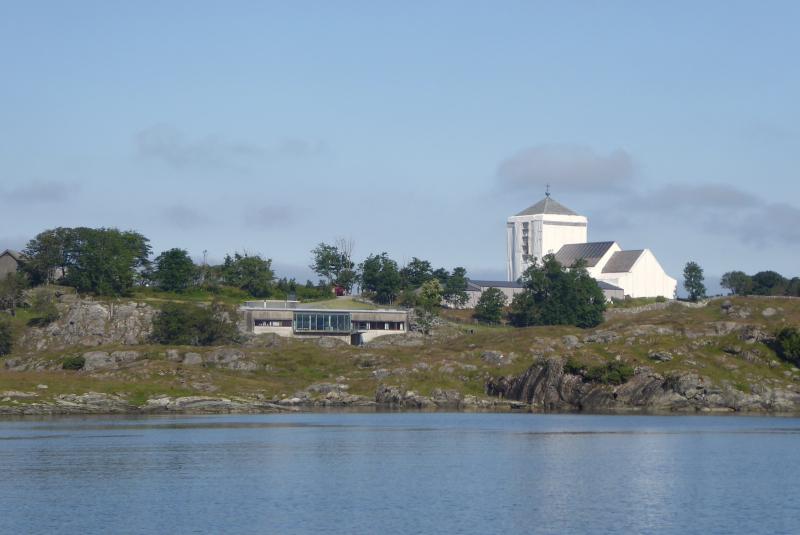 Olavskirke and adjacent museum building