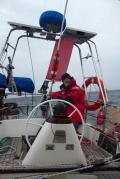 Setting the wind vane